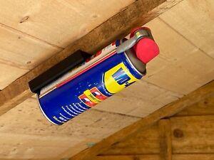 Aerosol Spray Can Magnetic Holder [Storage/Shelving/Organiser/Workshop/Shed/Van]