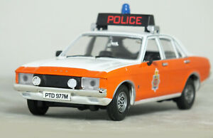 "1:43 CORGI Vanguards ""MK1 FORD Consul GRANADA GT Lancashire Police Car RARE 18"