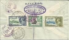 K.U.T. SG#126,#111,#124 Tanga 27/SE/1935 Registered to USA