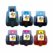 6 PK HP 02 XL CMY Ink Cartridge HP Photosmart C7280 3310 8230 8238 8250