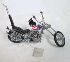Franklin Mint Precision Die-Cast Model Harley Davidson Easy Rider Chopper 1:10
