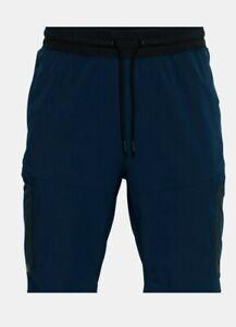 Under Armour Men's Sportstyle Elite Cargo Blue Medium Shorts NWT