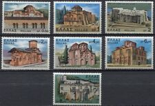 Greece- 1972 Monasteries and Churches complete set MNH **