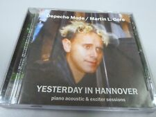 Martin Lee  Gore – Yesterday In Hannover - Piano Acoustic  2002  1ST RARE EU CD