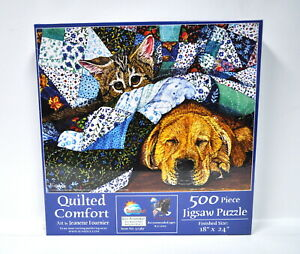 Quilted Comfort Jigsaw Puzzle 500 Piece