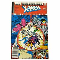 Marvel Comics 1988 Super-Sized Annual 64 Page Comic X-Men Issue #12 X-Babies