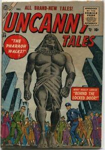 Uncanny Tales #38 Atlas Comics 1955 GD 2.0