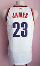 NBA CLEVELAND CAVALIERS BASKETBALL CHAMPION SHIRT JERSEY #23 LEBRON JAMES SIZE M