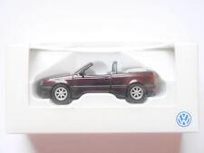 VW Golf 3 III 1H Cabriolet in rot rouge roja red metallic, Schabak 1:43 DEALER