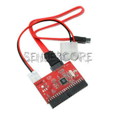 2 in 1 IDE to SATA SATA to IDE Adapter Board Power Cable Support ATA 100/133