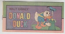 Walt Disney Donald Duck #1 1977 Bronze Age Western Publishing Mini Comic Promo