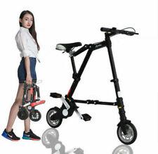 "Folding Bike 8"" Mini Aluminum Alloy Travel Lightweight Portable Foldable Bicycle"