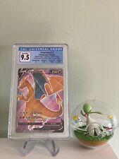 Pokemon Champion's Path CHARIZARD V SWSH050 Black Star Promo CGC 9.5 Gem Mint