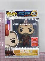 Funko Pop! Guardians Of The Galaxy Vol 2 Kraglin #337 Exclusive NOT MINT J01