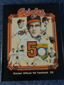 1983 World Series Champion Baltimore Orioles Yearbook