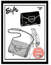 1940s Wartime Handbag Sewing Pattern - Rationing Era Handbag Pattern