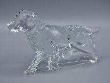 Baccarat Crystal Large Pointer Dog Sculpture Figurine Hunting Retriever  France