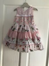 GIRLS NEXT BEAUTIFUL FLORAL PATCHWORK PROM STYLE DRESS AGE 18 - 24 MONTHS *RARE*
