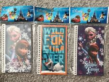 Disney Frozen , 3 Small Spiral Notepads/notebooks,  School, Party Supplies, New