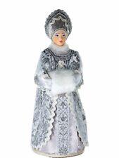 Art doll Snegurochka Russian Snow Maiden. New Year and Christmas toy HANDMADE