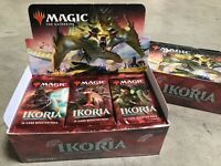 18 x IKORIA Lair DRAFT Booster Packs New from Factory Sealed Box English MTG