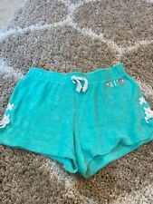 Justice girls mint green soft shorts NWT sz 14/16💗