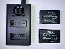 Batteries (LP-E17) for Canon cameras with USB Charger