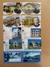 10 pieces Singapore Phone cards (used) (Lot 10-200617)