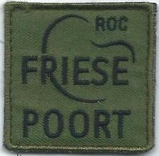 BORSTEMBLEEM ROYAL NETHERLANDS ARMY    ROC FRIESE POORT  # 2