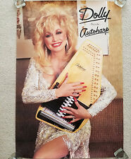 Original Dolly Parton Autoharp 26 x 38 Collector's Poster