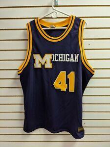 Majestic Authentic Throwback College Jersey Michigan Glen Rice sz 2XL