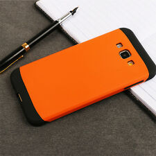 For Samsung Galaxy Fashion Hard Bumper Hybrid Soft Rubber Skin Case Cover