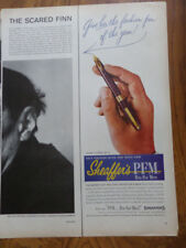 1959 Sheaffer's Pens Ad PFM Pen for Men & Lady Sheaffer
