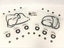 NEW GENUINE TOYOTA VALVE COVER WASHERS, GASKETS & SPARK PLUG TUBE SEALS 5VZFE