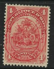 HAITI, 1906, 4 Cent Provisional Definitive, Sg 122, Mounted Mint.