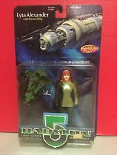 Babylon 5 Lyta Alexander With Green Ship Previews Exclusive Action Figure 1997