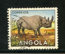 1953 - ANGOLA - 2 Ags. RINOCERONTE - USATO - LOTTO/29029