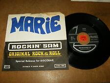 SAM AND HIS ROCKIN FIVE - MARIE - MARGIE  / LISTEN - JIVE ROCK N ROLL