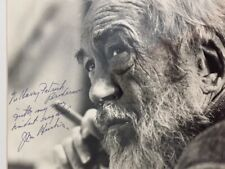 John Huston Signed 10 X 8 Matted Photo Director Maltese Falcon African Queen