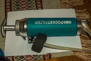 Katadyn Pocket Water Filter - Outdoor Drinking