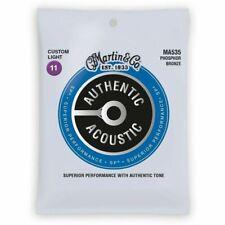 Martin Authentic SP Acoustic Strings Phosphor Bronze 11-52 1 Set MA535