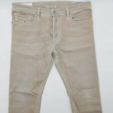 Diesel Tepphar Wash 0850Y_Stretch W34 L30 beige Designer Denim Herren Men Jeans
