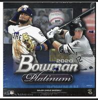 2020 Topps Bowman Platinum Baseball Mega Box 1 Auto + 2 Parallels! Tatis ?