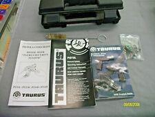Taurus Pt140 .40 S&W Hard Plastic Case Box w/keys/cleaner/ and paper work