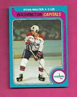 1979-80 TOPPS # 236 CAPITALS RYAN WALTER ROOKIE NRMT-MT (INV# C4637)