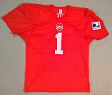 """Circuit City Direct TV Football Jersey Men's XL """"Live the Game"""""""