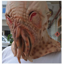 Octopus Mask Latex Doctor Who Movie Horrible Ood Halloween Carnival Cosplay