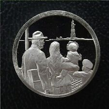 Franklin Mint Silver Mini-Ingot: 1924 Immigration Restricted - Statue of Liberty
