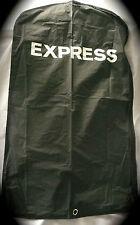 "LOT OF 3 EXPRESS GARMENT BAGS 24"" x 42"" Black Vinyl Shirts, Dresses, Suits"