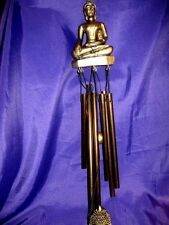 FSH125 Feng Shui Wind Chime Buddha 6 Tube 50cm Length